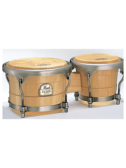 Pearl PBW-300DXN #511 Elite Wood Bongos - 7