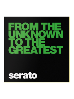 Serato Performance Series From The Unknown Black