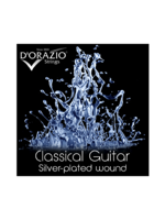 D'orazio Classic Silverplated - Bio Nylon Hard Tension