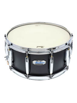 Pearl MCT1465S/C - Rullante Masters Complete - Masters Complete Snare Drum in Matte Caviar