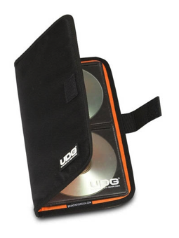 Udg Cd Wallet 24 Digital Black/Orange Inside