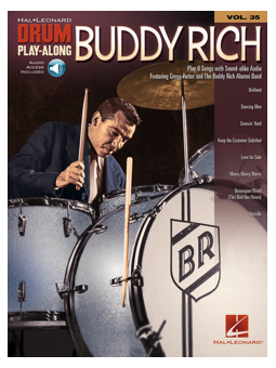Volonte Drum Play Along v.35 Buddy Rich