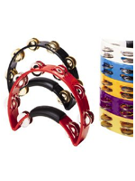 Rhythm Tech RT1081 - Purple Tambourine, Brass Jingles