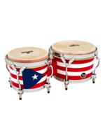 Lp M201-PR Matador Bongos, Puerto Rican/Chrome Hardware