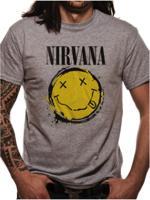 Cid T-shirt NIRVANA Smiley Splat tg L