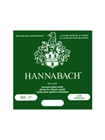 Hannabach Set 800LT Low tension Silver plated