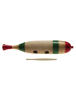 Stagg GUF-141L Fish Shape Wooden Guiro, Large