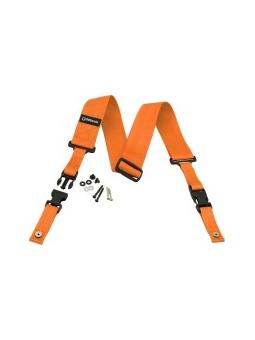 Dimarzio Dd2200 Neon Orange Clip Lock