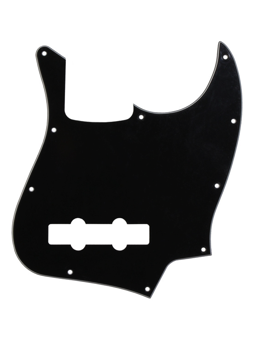 Allparts PG-0755-033 Pickguard for Jazz Bass Black