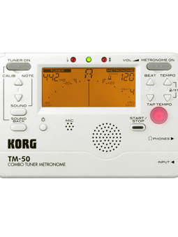 KORG TM50-PW Tuner and Metronome