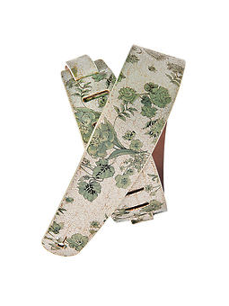 Planet Waves Distressed Floral White Strap