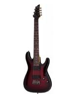 Schecter Damien Elite-7 Crimson Red Burst