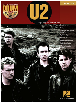 Volonte Drum Play Along U2 + CD