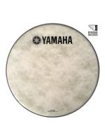 "Yamaha N77024039 - Pelle per grancassa da 20"" Fiberskyn con logo YAMAHA Nero - 20"" Fiberskyn bass drumhead w/YAMAHA Black Logo"