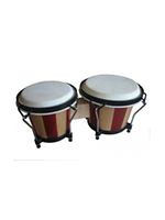 Soundsation SB-NW10-WS Wood Stripes Bongos