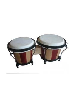 Soundsation SB-NW10-WS Wood Stripes Bongos