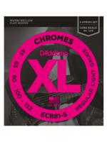 Daddario ECB81-5 Chromes Bass