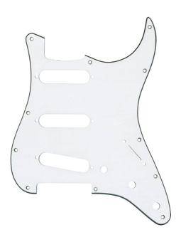 Fender Pickguard Stratocaster  White
