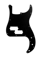 Allparts PG-0750-033 Balck  Pickguard for Precision Bass