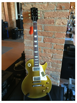 Gibson 1957 Les Paul GoldTop Vos Gold Top