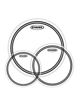 Evans EC2SCLR-S; EC2 Clear Tom Pack-Standard (12