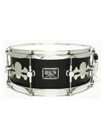 Spaun Drum Co. Maple 5.5x13 Snare Drum - Stainless Skulls