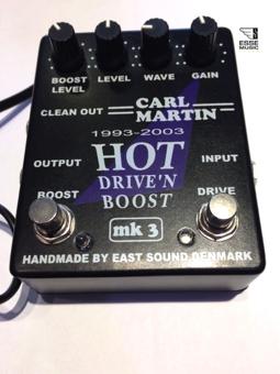 Carl Martin HOT DRIVE'N BOOST MK3