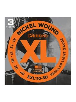 Daddario EXL110-3Set