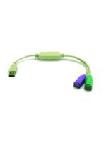 G&bl 2186 2xPS/2 Jack Converter USB Plug