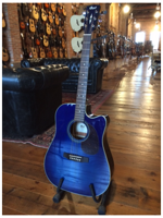 Cort MR600F Transparent Blue