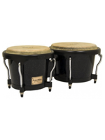 Tycoon STB-B-BK  Bongos Supremo Black Powder, Black