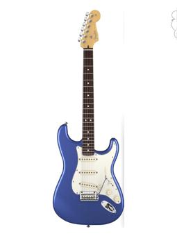 Fender American Standard Stratocaste Rw Ocean Blue Metallic