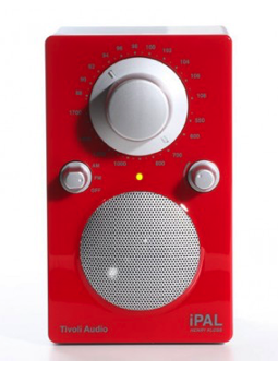 Tivoli Audio - Henry Kloss iPal High Gloss Red / Silver