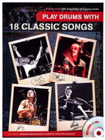 Volonte Play Drum With 18 Classic Songs