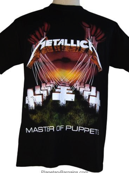 Cid Metallica - Master Of Puppets ExtraLarge
