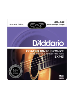 Daddario EXP13 Coated 80/20 Bronze