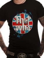 Cid T-shirt THE WHO Logo standing Black S