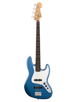 Fender Mex Standard Jazz Bass Rw Lake Placid Blue