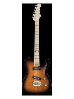 G & L Tribute Asat Sp.dlx.carved Top 3ts