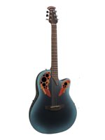 Ovation CE44 Celebrity Elite Reverse Blue Burst