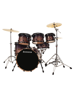 Ludwig LCB622PXCF Element Lacquer Charcoal Fade