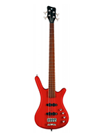 Warwick Rockbass Corvette Basic 4 Burg Red