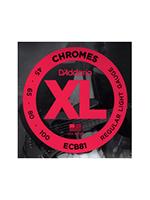 Daddario ECB81 Chromes Bass