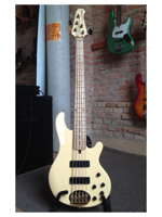 Lakland SKY 5501 Limited edition gold hardware Maple Vintage cream