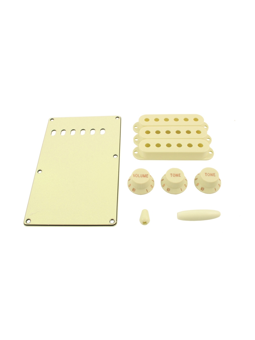 Allparts PG-0549-050 Kit for Stratocaster Parchment