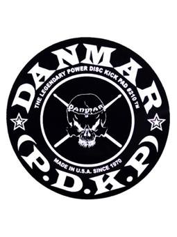Danmar 210SK Skull Power Disk Kick Pad