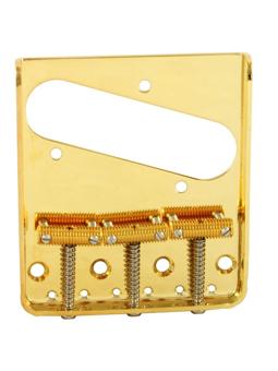 Allparts TB-0020-002 Bridge for Tele Gold