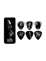 Dunlop BOB-PT04H Bob Marley Silver Portrait Heavy Picks