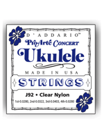 Daddario J92 Pro-Arté Ukulele, Concert