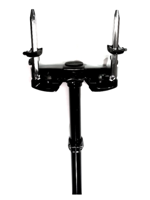 Mapex TH676LQ - Supporto Tom per grancassa Nero - Bass Drum Tom Mount in Black